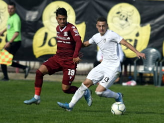 Liga 2: Inca un pas gresit pentru Rapid Bucuresti, dupa un derbi de traditie cu U Cluj