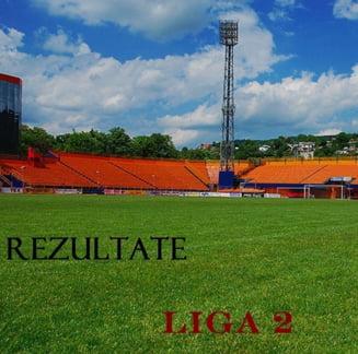 Liga 2: Rezultatele etapei a 12-a si clasamentele - ce au facut U Cluj, UTA, FC Brasov si Farul
