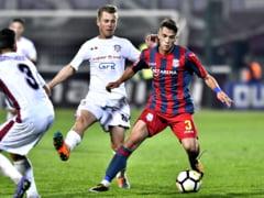 Liga 4: Rapid invinge Steaua categoric dupa un meci cu incidente grave in tribune