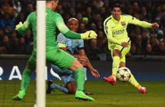 Liga Campionilor: Barcelona se impune la Manchester City
