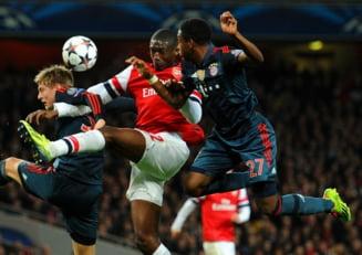 Liga Campionilor: Bayern invinge Arsenal dupa un meci nebun