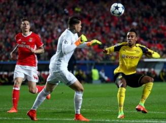 Liga Campionilor: Benfica obtine o victorie importanta cu Borussia Dortmund
