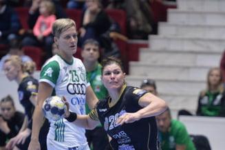 Liga Campionilor: CSM Bucuresti pierde returul cu Gyor, pe teren propriu, in grupele principale