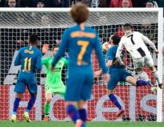 Liga Campionilor: Juventus, cu un Cristiano Ronaldo incredibil, a eliminat-o pe Atletico Madrid. Manchester City a facut scor cu Schalke