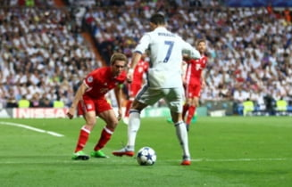 Liga Campionilor: Real Madrid elimina Bayern Munchen si merge in semifinale dupa un meci cu greseli de arbitraj