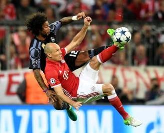 Liga Campionilor: Rezultatele complete din sferturi si programul meciurilor retur