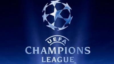 Liga Campionilor: Rezultatele inregistrate in meciurile de marti si programul de astazi