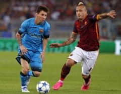 Liga Campionilor:Barcelona, doar o remiza la Roma. Gol fabulos al italienilor