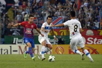 Liga I: Steaua stinge orice fel de suspiciune si trece fluierand de Viitorul