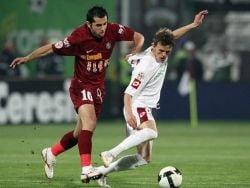 Liga I: Victorie categorica a Rapidului cu CFR Cluj