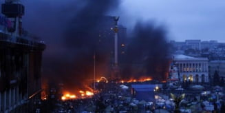 Lupte sangeroase in Ucraina: Zeci de morti si sute de raniti. Ianukovici e de acord cu alegeri anticipate