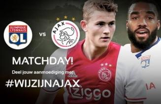 Lyon - Ajax: Echipele probabile, ultimele informatii si ponturi la pariuri