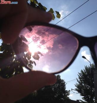 Meteo: Vreme caniculara, cu maxime de pana la 34 de grade