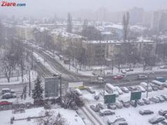Meteo: Am intrat cu adevarat in iarna. Ninsorile si frigul se simt deja la Bucuresti