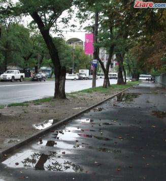 Meteo: Cu gandul la ziua de luni, cand scapam de ploi si se va mai incalzi