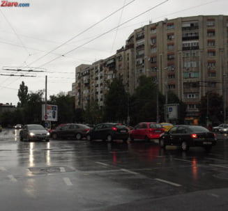 Meteo: Ploua putin, dar mai cresc si temperaturile