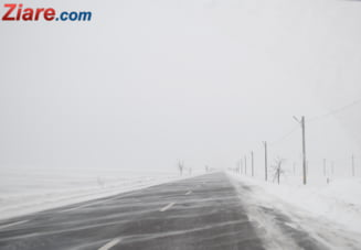 Meteo: Scapam de zapada, nu si de ger - vezi drumurile inchise
