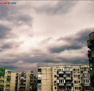 Meteo: Tot mai frig si urat - cod galben de vijelii in 12 judete si Bucuresti