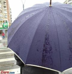 Meteo: Weekend cu ploi si temperaturi mai mici