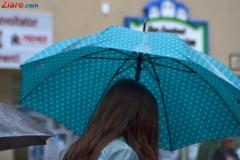 Meteo: Weekendul vine cu si mai multe ploi