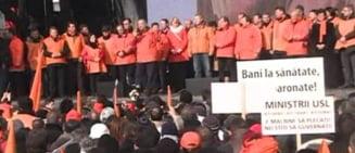 Miting PDL Mii de oameni prezenti. Predoiu: In regimul Ponta-Antonescu, oamenii mor cu zile
