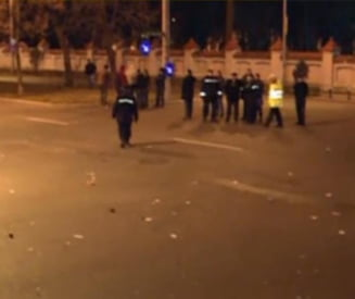 Miting anti-Basescu: 1.000 de oameni au protestat la Cotroceni