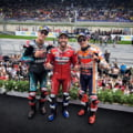 MotoGP: Dovizioso castiga Grand Prix-ul Austriei dupa un duel spectaculos cu Marc Marquez