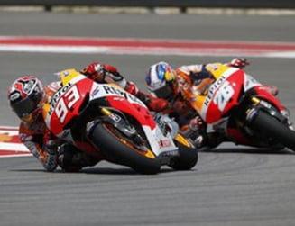 MotoGP: Marquez castiga in Cehia dupa un duel superb cu Lorenzo si Pedrosa