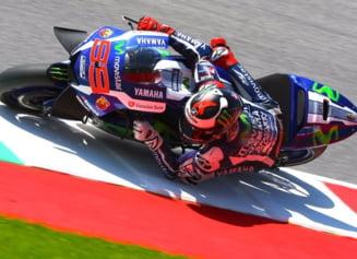 MotoGP: Motorul lui Valentino Rossi a explodat la Mugello, Jorge Lorenzo a triumfat