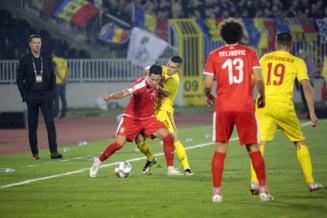 Nations League: Romania rezista eroic in 10 oameni in fata Serbiei si scoate un egal chinuit