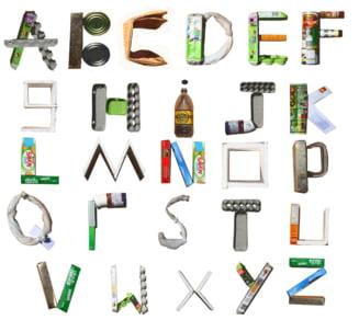 Patrula de reciclare: Alfabetul reciclarii