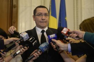Ponta si-a dat demisia: Economia, victima colaterala - Analiza Stratfor