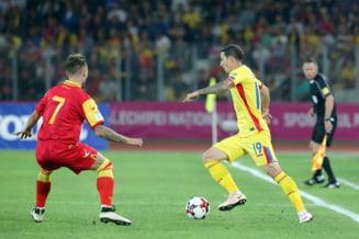 Preliminarii CM 2018: Romania face doar o remiza cu Muntenegru, dupa un penalti ratat in prelungiri