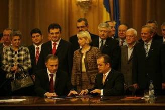 Presa de azi: PSD si PD-L si-au impartit ciolanul, raul si ramul