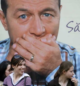 Presa de azi: Traian Basescu a tacut si n-a facut