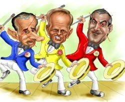 Presa de azi: Basescu ii pune pe Tariceanu si Geoana pe scaunul Electrica