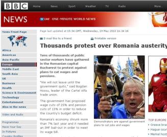 Presa straina: Cel mai mare protest dupa Revolutia din '89, in Romania