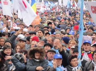 Protestul din Bucuresti: Imagini de o mie de cuvinte (Galerie foto)