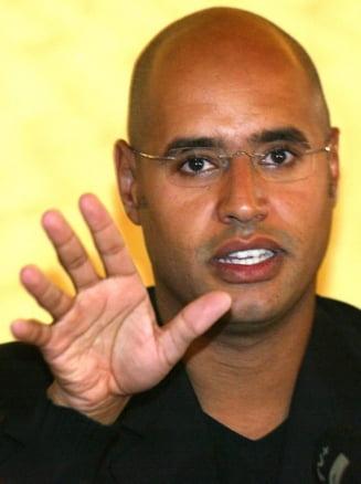 Razboi in Libia: Fiul lui Gaddafi - Occidentul, inselat de o neintelegere