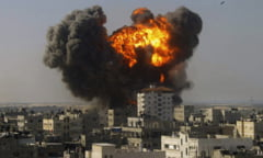 Razboi sangeros in Gaza. Numarul mortilor in tabara palestiniana creste dramatic