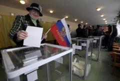 Referendum in Crimeea: 95,5% din alegatori vor unirea cu Rusia - SUA si UE nu recunosc votul