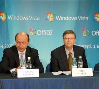 Reuters: De ce est-europenii aleg pirateria pe Net si ce i-a spus Basescu lui Bill Gates