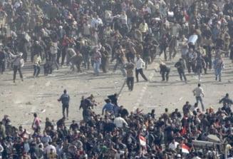 Revolte in Egipt: Situatia s-a mai calmat, la Cairo