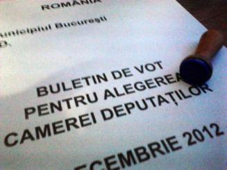 Rezultate alegeri parlamentare 2012 - Noi rezultate partiale, anuntate de BEC