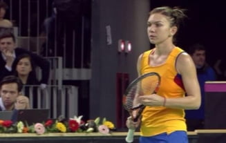 Romania - Cehia: Simona Halep pierde dupa un meci palpitant in fata Karolinei Pliskova
