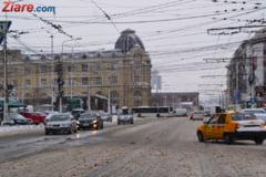 Romania, in zapada: Avertizare de ger de marti pana vineri. Ce drumuri raman inchise