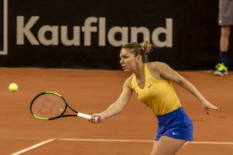 Romania, invinsa de Franta in semifinalele Fed Cup: Simona Halep n-a venit la conferinta de presa