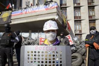 Separatism in Ucraina: Guvern interimar pentru noua republica aparuta pe harta