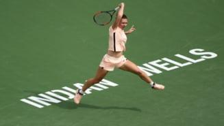 Simona Halep, in sferturi la Indian Wells: Iata ora de start a meciului cu Petra Martici