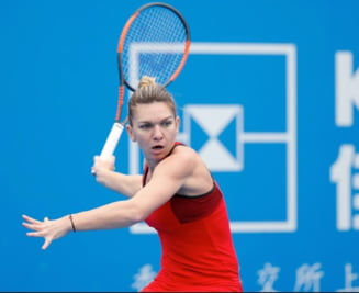 Simona Halep, la Shenzhen: Iata cand va juca numarul 1 WTA